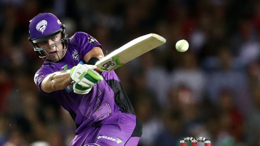 Ben McDermott hit the first century of the 2016-17 Big Bash League