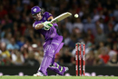 Ben McDermott hit the first century of the 2016-17 Big Bash League, Melbourne Renegades v Hobart Hurricanes, BBL 2016-17, Melbourne, January 12, 2017