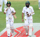 JP Duminy and Hashim Amla extended their stand into the final session, South Africa v Sri Lanka, 3rd Test, Johannesburg, 1st day, January 12, 2017