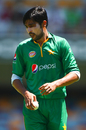Mohammad Amir's first spell read 4-0-10-2, Australia v Pakistan, 1st ODI, Brisbane, January 13, 2017