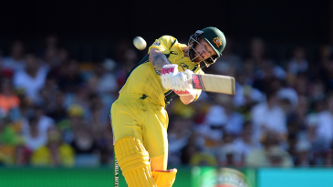 Matthew Wade hits over the top