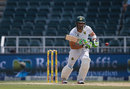 Faf du Plessis made 16 before falling to Nuwan Pradeep, South Africa v Sri Lanka, 3rd Test, Johannesburg, 2nd day, January 13, 2017