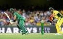 Mohammad Rizwan struggled for fluency during his 21, Australia v Pakistan, 1st ODI, Brisbane, January 13, 2017