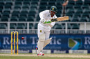 Quinton de Kock flicks through the leg side, South Africa v Sri Lanka, 3rd Test, Johannesburg, 2nd day, January 13, 2017