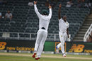 Kagiso Rabada struck twice after tea, South Africa v Sri Lanka, 3rd Test, Johannesburg, 2nd day, January 13, 2017