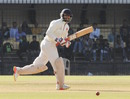 Abhishek Nayar bats during his half-century, Gujarat v Mumbai, Ranji Trophy 2016-17, final, 4th day, Indore, January 13, 2017