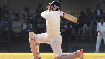 Abhishek Nayar smashed five sixes in his 91