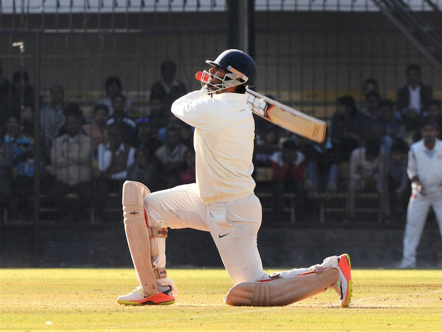Gujarat all out for 328, lead Mumbai by 100 runs