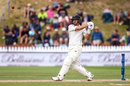 Ross Taylor swats towards midwicket, New Zealand v Bangladesh, 1st Test, Wellington, 3rd day, January 14, 2017