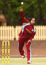 Anisa Mohammed took two wickets, Australia v West Indies, ICC Women's Championship, Sydney, November 11, 2014