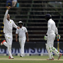 Debutant Duanne Olivier was among the wickets, South Africa v Sri Lanka, 3rd Test, Johannesburg, 3rd day, January 14, 2017