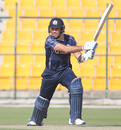 Kyle Coetzer drives through cover, Hong Kong v Scotland, Desert T20, Group B, Abu Dhabi, January 14, 2017