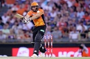 Tim Bresnan swats one to the leg side, Perth Scorchers v Melbourne Stars, Big Bash League 2016-17, Perth, January 14, 2017