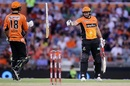 Tim Bresnan and Ashton Agar revived Scorchers with an unbeaten half-century stand, Perth Scorchers v Melbourne Stars, Big Bash League 2016-17, Perth, January 14, 2017