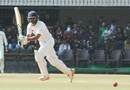 Parthiv Patel drives during his 143, Gujarat v Mumbai, Ranji Trophy 2016-17, final, 5th day, Indore, January 14, 2017