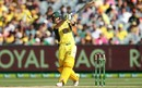 Steven Smith mis-times a heave, Australia v Pakistan, 2nd ODI, Melbourne, January 15, 2017