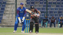 Shaiman Anwar looks for a single to mid-on during his 53, UAE v Namibia, Desert T20, Group A, Abu Dhabi, January 15, 2017