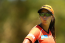 Piepa Cleary looks on in the field, Perth Scorchers v Melbourne Stars, Women's Big Bash League, Lilac Hill, Perth, January 15, 2017