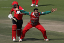 Bilal Khan wrecked Hong Kong's top order, Hong Kong v Oman, Desert T20, Group B, Abu Dhabi, January 16, 2017