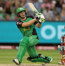 Luke Wright carried his bat to finish unbeaten on 60, Melbourne Stars v Brisbane Heat, Big Bash League 2016-17, Melbourne, January 17, 2017