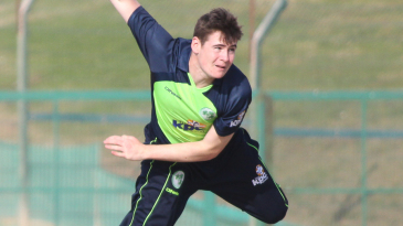 Joshua Little took two wickets at the death to finish with 2 for 17