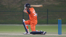 Ben Cooper got Netherlands off to a rapid reply, Netherlands v Scotland, Desert T20, Group B, Abu Dhabi, January 17, 2017