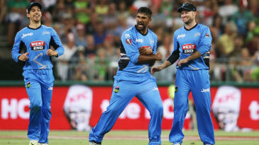 Ish Sodhi's 6 for 11 is the best figures by an Adelaide Strikers bowler in BBL history