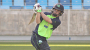 Andy McBrine struck a pair of key boundaries late, UAE v Ireland, Desert T20, Group A, Dubai, January 18, 2017