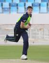 Boyd Rankin took three wickets in the Powerplay to put Ireland in control, UAE v Ireland, Desert T20, Group A, Dubai, January 18, 2017