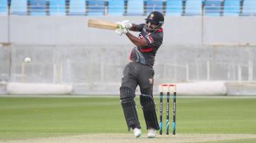 Muhammad Usman pulls through midwicket