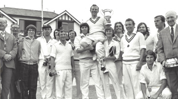 Idle, winners of the Priestley Cup in 1976