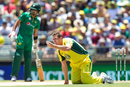 James Faulkner makes a despairing appeal for lbw, Australia v Pakistan, 3rd ODI, Perth, January 19, 2017