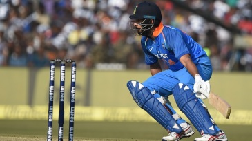 Yuvraj Singh was on the lookout for runs in Cuttack