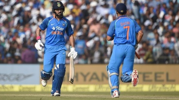 MS Dhoni and Yuvraj Singh led India's recovery