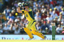 Steven Smith flicks en route his 8th ODI century, Australia v Pakistan, 3rd ODI, Perth, January 19, 2017