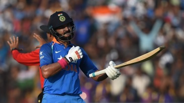 Yuvraj Singh's career-best score of 150 rescued India after they slumped to 25 for 3