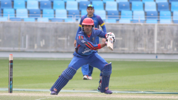 Mohammad Nabi cuts through point