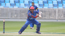 Mohammad Nabi cuts through point, Afghanistan v Namibia, Desert T20, Group A, Dubai, January 19, 2017