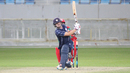 Matthew Cross top-scored with 47 in Scotland's chase, Oman v Scotland, Desert T20, Group B, Dubai, January 19, 2017