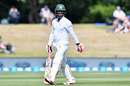 Tamim Iqbal fell for 5 in his first innings as Bangladesh's Test captain, New Zealand v Bangladesh, 1st Test, Christchurch, 1st day, January 20, 2017