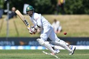 Nurul Hasan flicks the ball through square leg, New Zealand v Bangladesh, 1st Test, Christchurch, 1st day, January 20, 2017