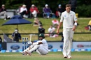 Tim Southee forced Kamrul Islam Rabbi off his feet, New Zealand v Bangladesh, 1st Test, Christchurch, 1st day, January 20, 2017