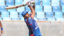 Asghar Stanikzai heaves Khawar Ali for six, Afghanistan v Oman, Desert T20, 1st semi-final, Dubai, January 20, 2017