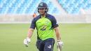 Gary Wilson walks off unbeaten on 65 off 29 balls, Ireland v Scotland, Desert T20, 2nd semi-final, Dubai, January 20, 2017