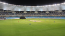Play gets underway at the Dubai International Cricket Stadium, Afghanistan v Ireland, Desert T20, Final, Dubai, January 20, 2017