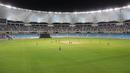 Play gets underway at the Dubai International Cricket Stadium, Afghanistan v Ireland, Desert T20, Final, Dubai, January 20, 2017