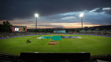 Rain caused a significant delay to the opening T20