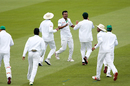 Kamrul Islam Rabbi struck twice in his first over, New Zealand v Bangladesh, 2nd Test, Christchurch, 2nd day, January 21, 2017