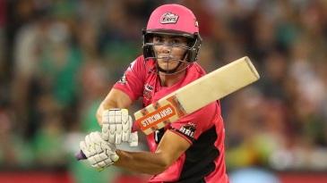 Sean Abbott hit an unbeaten 33 off 17 balls