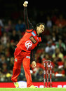 Tom Cooper bowls, Melbourne Renegades v Sydney Thunder, Big Bash League, Melbourne, December 22, 2016